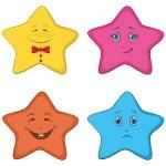 Smilies stars — Stock Photo