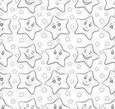 Smilies stars, contours — Stock Photo