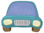 漫画, 車 — ストック写真