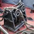 Anchor winch — Stock Photo