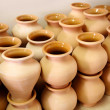 Stock Photo: Multitude of pottery
