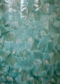Green handmade glaze texture — Stock Photo
