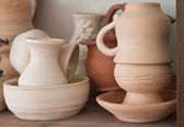 Pottery examples — Stock Photo