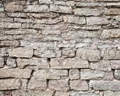 Gray stone wall texture — Stock Photo