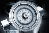 Naval gyrocompass — Stock Photo