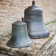 Traditional Russian old church bells — Stock Photo