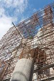 Works on Sagrada Familia — Stock Photo