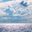 Sea and sky background — Stock Photo