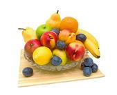Bodegón de frutas frescas — Foto de Stock
