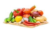 Fresh vegetables close-up — Stock Photo