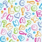 Alphabet pattern — Stock Vector