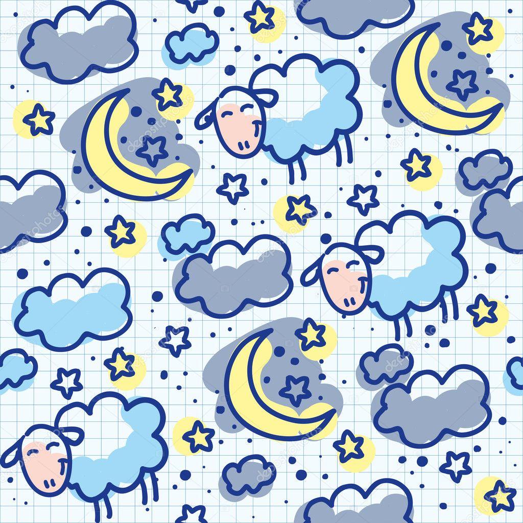Bed sheets texture seamless - Pillow Texture Seamless