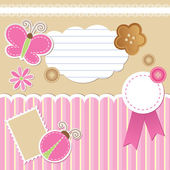 Set of scrapbook elements — Cтоковый вектор