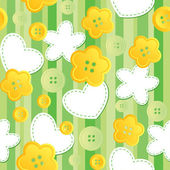 Cute seamless pattern — Stock Vector