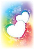 Rainbow abstract vertical — Stock Vector