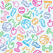 αθλητισμός μοτίβο — Διανυσματικό Αρχείο