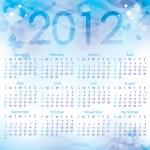Calendar 2012 — Stock Vector #7477822