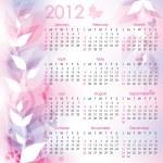 Calendar 2012 — Stock Vector #7477902