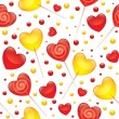 Lollipops seamless pattern — Vettoriali Stock