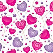 Lollipops seamless pattern — Stock Vector