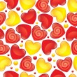 Royalty-Free Stock Vector Image: Glossy hearts