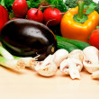 Vegetables on table 2 — Stock Photo #7901469