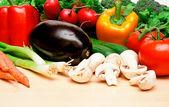 Légumes sur une table 2 — Photo