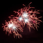 New year 2012 fireworks — Stock Photo