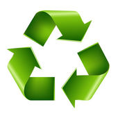 Recycle symbool — Stockvector
