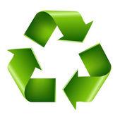 återvinna symbol — Stockvektor