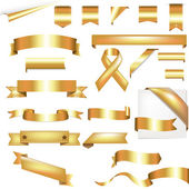 Gold Set — Stock Vector
