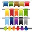Color Web Ribbons — Stock Vector #7181124