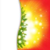 Новогодний фон с звездами — Cтоковый вектор