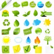 Eco Symbols Set — Stock Vector #7819883