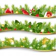 Christmas Garland Set — Stock Vector #7888739