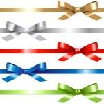 Ribbons Set — Stock Vector