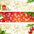 Christmas Banners — Stock Vector #7948396