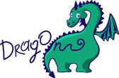 Dinosaur — Stock Vector