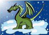 дракон — Cтоковый вектор