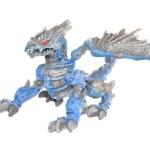 Dark blue dragon — Stock Photo