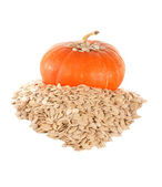 The pumpkin and pumpkin sunflower seeds l — Stock Photo
