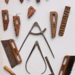 Various tools of stone carver — Stock Photo #6917397