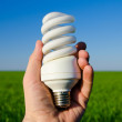 Energy saving lamp — Stock Photo #7355428