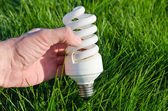 Energy saving lamp — Foto Stock