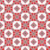 シームレスな刺繍の良い — ストックベクタ