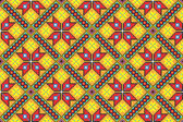 Seamless embroidered good like handmade cross-stitch — Stock Vector