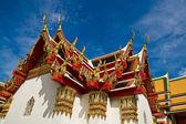 Tak av ett tempel — Stockfoto