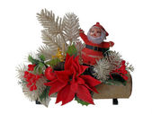 Antique Santa Decoration — Stock Photo