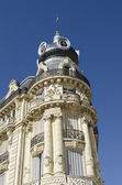 Ancient french luxury building — Stock Photo