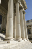 Columns of courthouse — Stock Photo